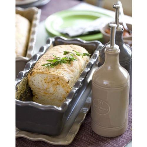 Керамическая бутылка для масла и уксуса Emile Henry Natural Chic Muscade 450 мл, фото
