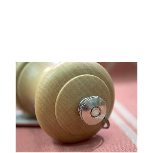 Компактная мельница для соли Peugeot Bistro Natural из бука 10 см, фото
