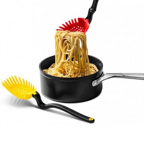 Кухонная ложка Dreamfarm Holey Spadle с функцией шумовки, фото