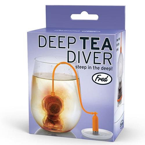 Заварник для чая Fred and Friends Deep Diver в виде водолаза, фото