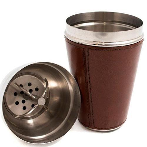 Шейкер Cofur коричневого цвета, фото