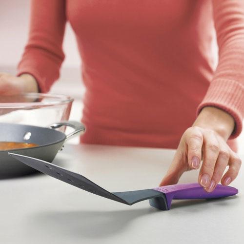 Лопатка широкая Elevate Joseph Joseph ручка фиолетовая, фото