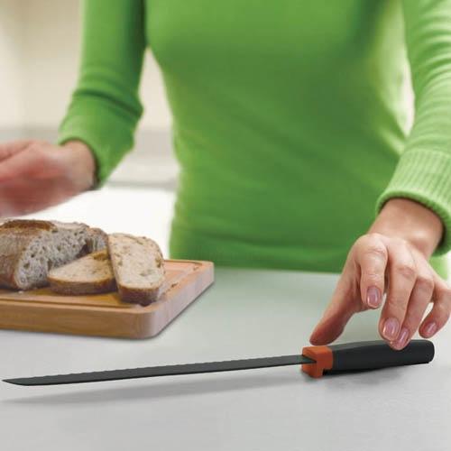 Нож для хлеба Joseph Joseph оранжевый, фото