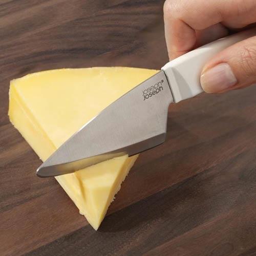 Нож для сыра двойной Duo Joseph Joseph черный, фото