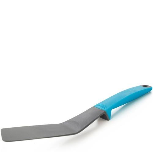 Лопатка Joseph Joseph Elevate гибкая удлиненная с голубой ручкой, фото