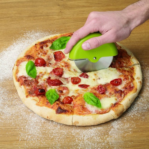 Нож для пиццы Josepf Josepf Scoot Pizza красный, фото