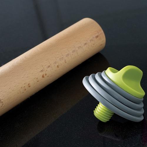 Скалка Joseph Joseph Rolling Pin Plus со съемными кремовыми дисками, фото