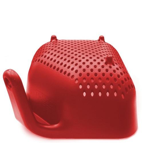 Дуршлаг Joseph Joseph Square Colander квадратный маленький красный, фото