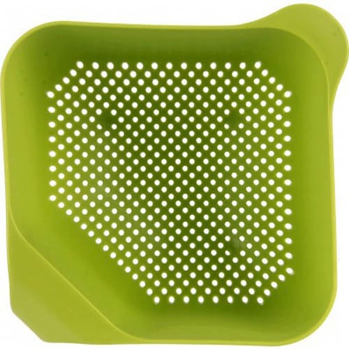 Дуршлаг Joseph Joseph Square Colander квадратный зеленого цвета объемом 4 л, фото