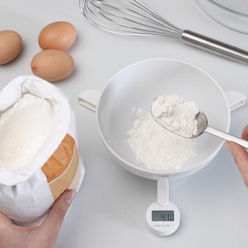 Весы Joseph Joseph TriScale кухонные складные белые, фото