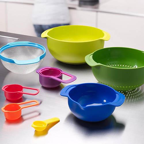 Цветной набор Joseph Joseph Nest кухонной посуды, фото