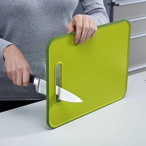 Доска с точилкой для ножей Joseph Joseph Slice&Sharper серая, фото