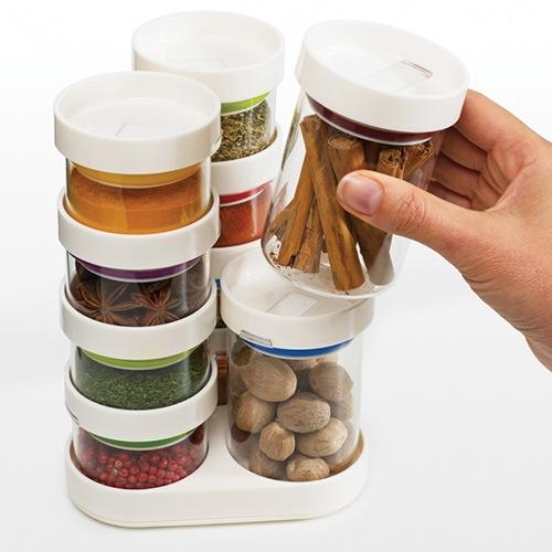 Набор емкостей Joseph Joseph из 10 предметов Food Store белый, фото