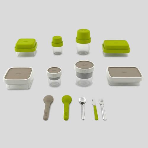 Набор столовых приборов Joseph Joseph GoEat в зеленом чехле, фото