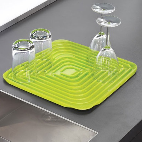 Сушилка для посуды Joseph Joseph Draining Mat зеленая, фото