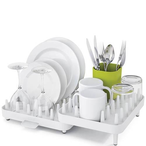 Сушилка для посуды Joseph Joseph Connect белая, фото