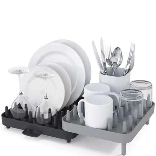 Сушилка для посуды Joseph Joseph Connect серая, фото