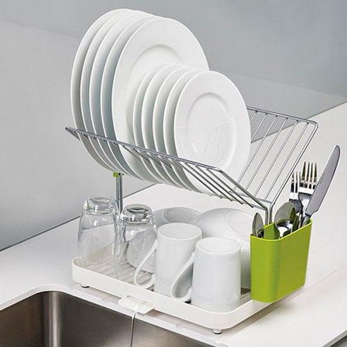 Сушилка для посуды Joseph Joseph Y-rack белая, фото