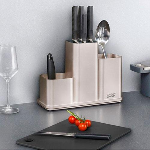 Органайзер для кухонных принадлежностей Joseph Joseph Counterstore с разделочной доской, фото