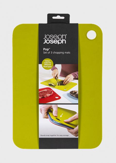 Набор разделочных ковриков Josepf Josepf Chopping Mats (3 шт.), фото
