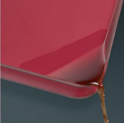 Доска двухсторонняя Joseph Joseph красная Cut&Carve, фото