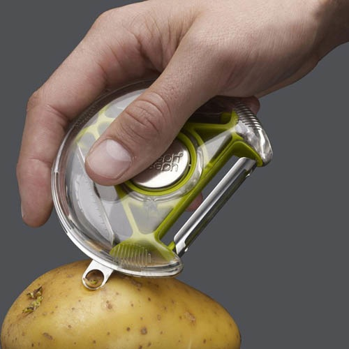 Нож для чистки овощей Joseph Joseph розовый, фото