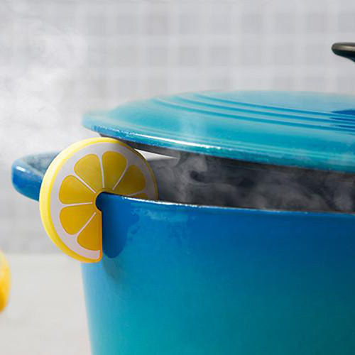 Держатель крышки кастрюли OTOTO Slice в виде лимона, фото