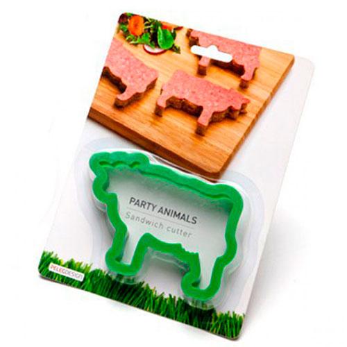 Форма для бутербродов Peleg Design Cow Party Animals, фото