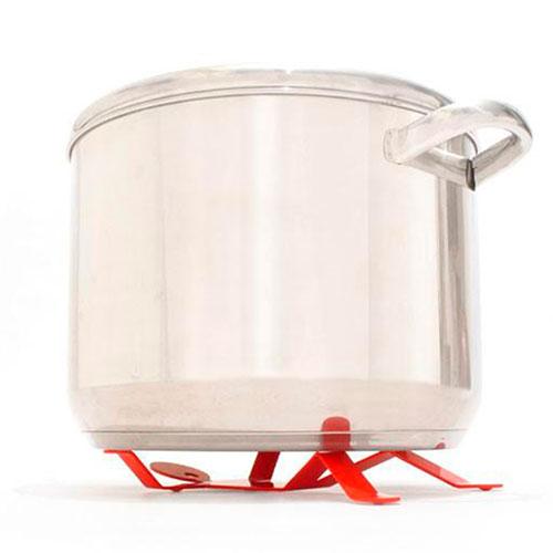 Подставка под горячее Peleg Design Hotman красная, фото