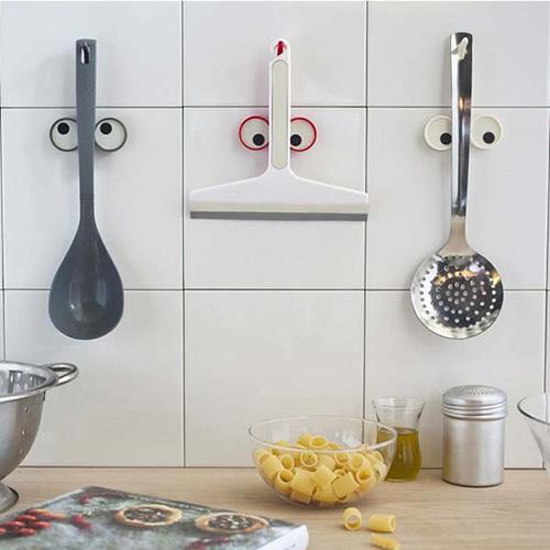 Держатель для кухонных принадлежностей Peleg Design Look Hook серого цвета, фото