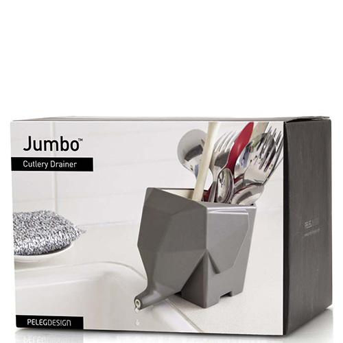 Сушилка для столовых приборов Peleg Design Jumbo серая, фото