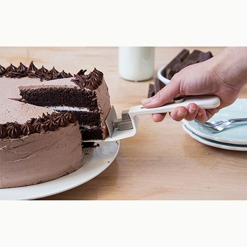 Лопатка для торта Peleg Design CakeDozer белая , фото
