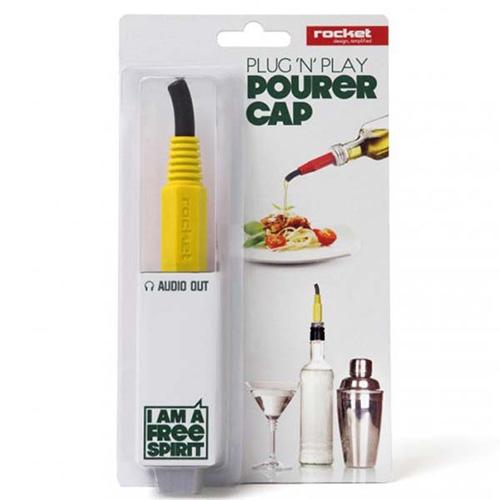 Насадка-дозатор Rocket Plug-n-Play желтого цвета, фото