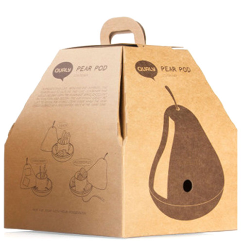 Органайзер-груша Qualy Pear Pod для хранения мелочей, фото
