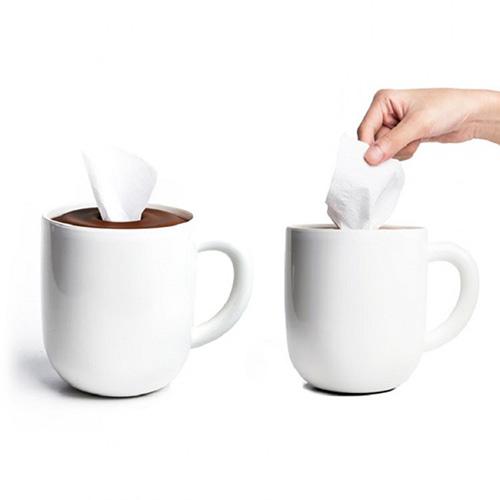 Подставка для салфеток Qualy Кофейная чашка, фото