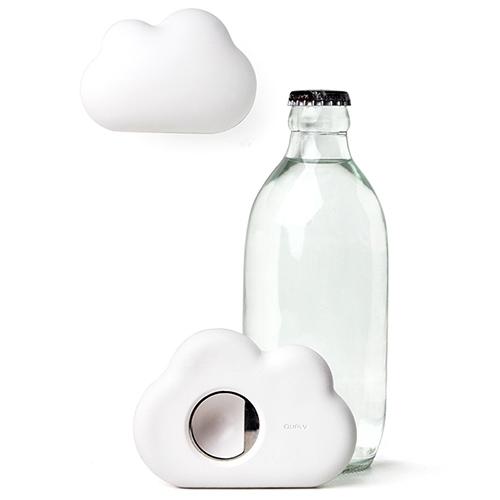 Открывашка для бутылки Qualy Cloud белая, фото