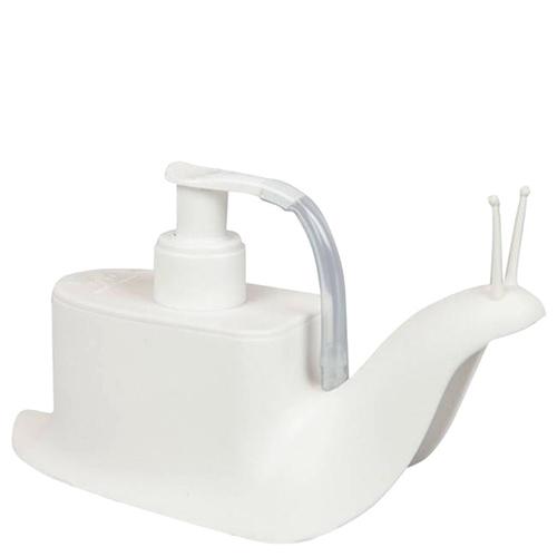 Диспенсер для жидкого мыла Qualy Escar белый, фото