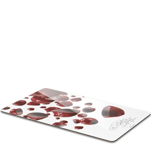 Разделочная доска Tassen Let red cups rain, фото