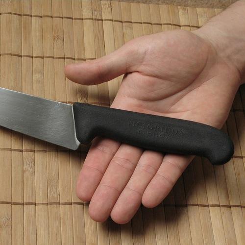 Шеф-нож Victorinox с широким лезвием длиной 22 см универсальный, фото