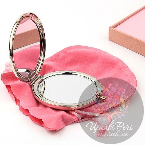 Зеркальце Jardin D ete со стразами Цветы, фото