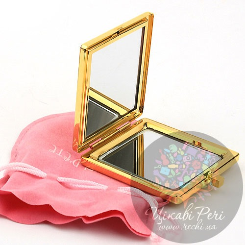 Зеркальце со стразами «Сердца», фото