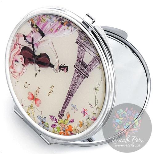 Зеркальце Jardin Dete Летний сад Мечта двойное круглое, фото