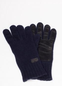 Шерстяные перчатки Harmont&Blaine с логотипом, фото