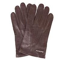 Мужские перчатки Baldinini коричневого цвета, фото