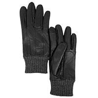 Мужские перчатки AMO Accessori с вязаными манжетами, фото
