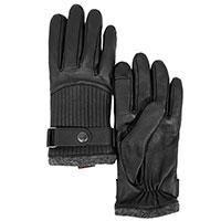 Мужские перчатки AMO Accessori со стегаными вставками, фото