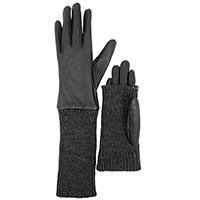 Женские перчатки AMO Accessori с длинными вязаными манжетами, фото