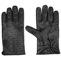 Мужские перчатки Emporio Armani с принтом в виде орла, фото