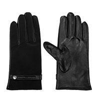 Женские перчатки Emporio Armani черного цвета, фото