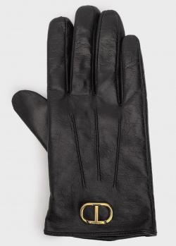 Женские перчатки Twin-Set из кожи, фото